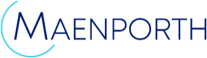 Maenporth logo, click to return to home page